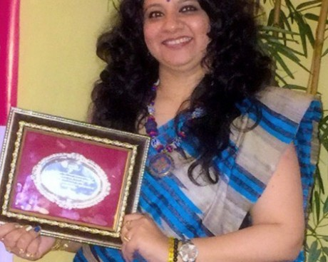 Priism Award-for Psychic Surgery Healing and as Speaker on Fengshui and Healing